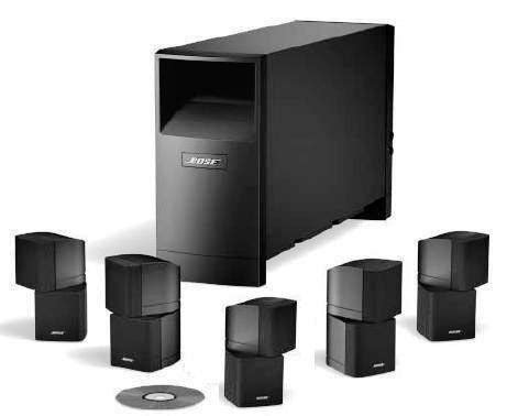 bose acoustimass  series ii home theater