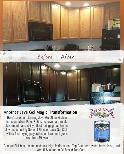 general finishes java gel stain kitchen cabinets here s another beautiful general finishes java gel stain