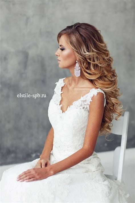 Wedding Hairstyles And Wavy by Best 25 Wavy Wedding Hairstyles Ideas On