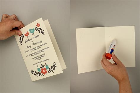 diy greeting cards template diy tutorial free printable invitation and rsvp card