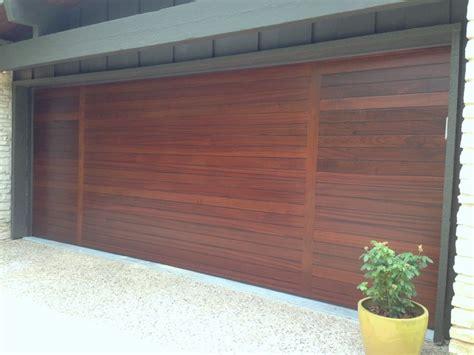 Mahogany Garage Door Contemporary Mahogany Door Modern Garage By Cowart Door Systems