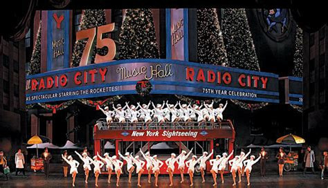 radio city christmas spectacular  guide