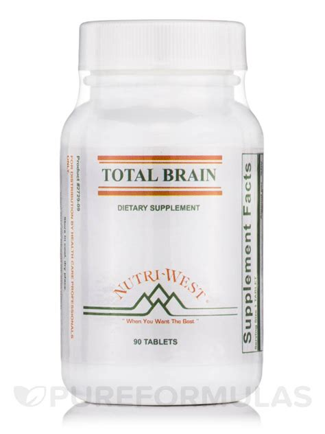 Nutri West Total Systemic Detox by Total Brain 90 Tablets