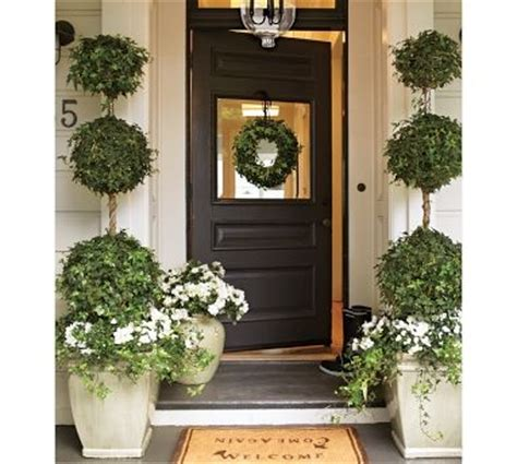15 Best Images About Front Door Entrances On Pinterest Front Door Topiary
