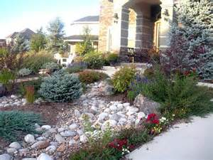 xeriscaping front yards in colorado xeriscape slope