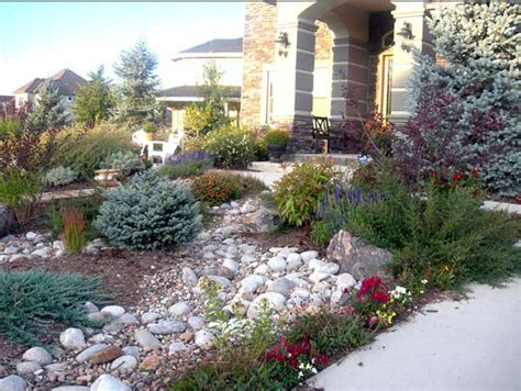 a and j landscaping xeriscaping front yards in colorado xeriscape slope solution xeriscape