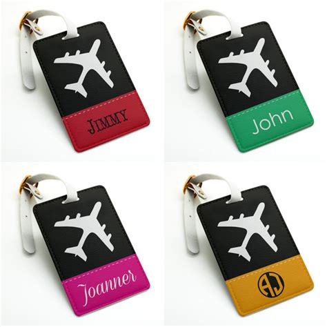 Travel Luggage Name Tag personalized name tag luggage tag bag tag travel tag