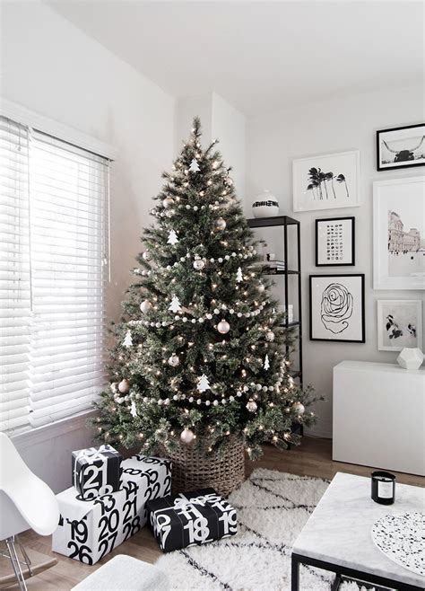 scandinavian tree lights minimal scandinavian tree homey oh my