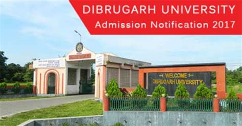 Dibrugarh Mba Entrance 2017 by Dibrugarh Mba Programme Admission 2017 2018
