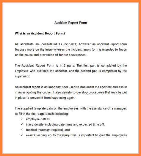 9 incident and accident report form template progress