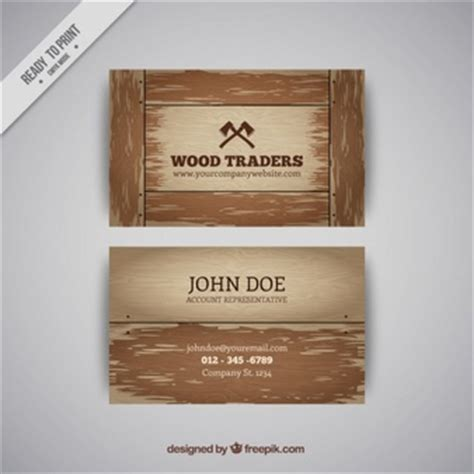 wood pattern business cards white painted on wood psd mockup psd file free download