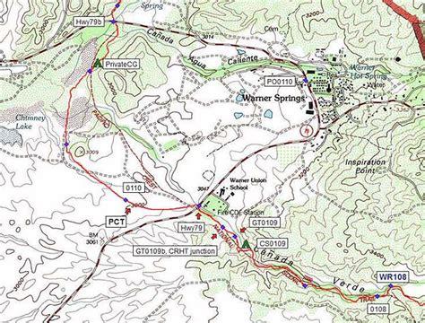 section k pct halfmile s pct maps pacific crest trail maps apps gps