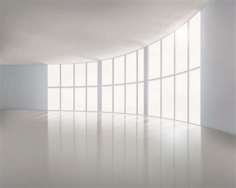 empty white room spacious empty white room design vector 04 vector other free