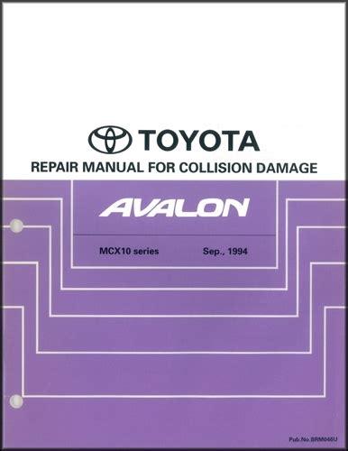 auto repair manual free download 1995 toyota avalon navigation system 1999 toyota avalon wiring diagram manual original