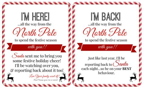 printable elf on the shelf arrival letter elf on the shelf ideas for arrival 10 free printables