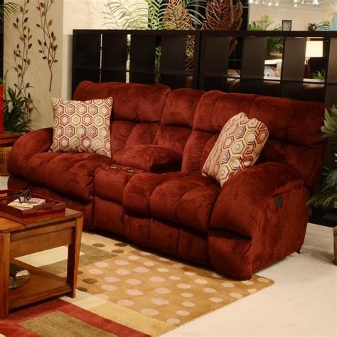 Wide Recliner Loveseat Siesta Lay Flat Reclining Console Loveseat With Wide Seats