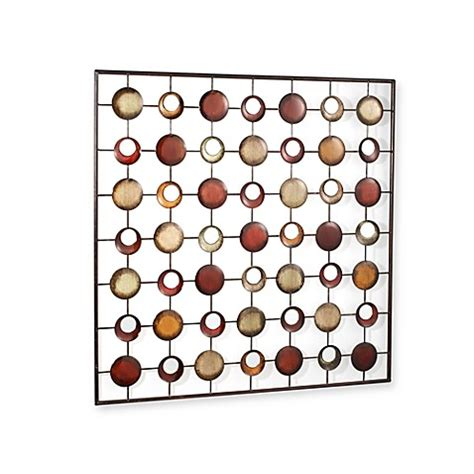 bed bath and beyond wall decor art metal and mirrored circles wall art bed bath beyond