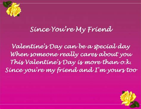 happy valentines day poems for friends friend s day messages poems and quotes