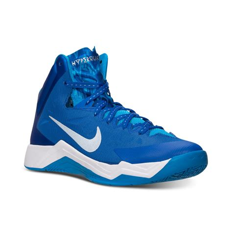 basketball shoes hyper quickness nike mens hyper quickness basketball sneakers from finish