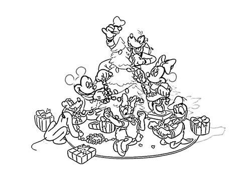 disney coloring pages for christmas disney christmas coloring pages free large images