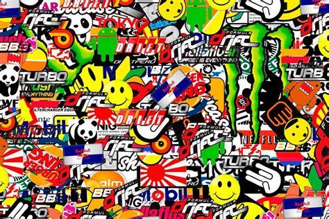 Sticker Mobil Stiker Mobil Soul Jdm stickerbomb wallpapers wallpaper cave