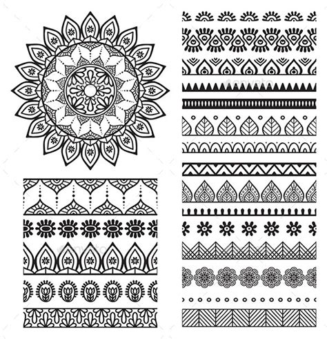 el pattern words mandala ornament and borders mandala symbols and ornament