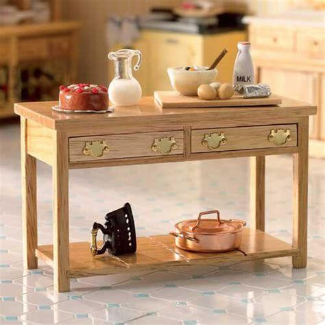 the dolls house emporium kitchen side table