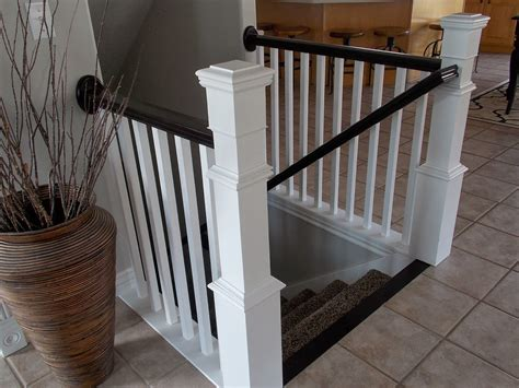 new stair banister remodelaholic stair banister renovation using existing