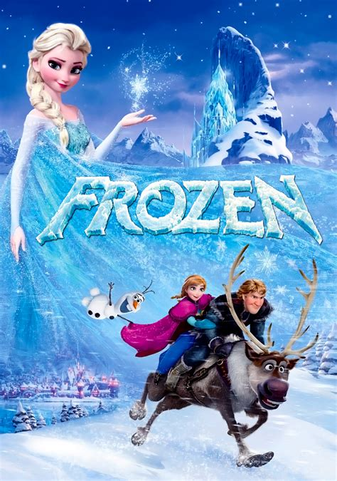 frozen film poster frozen movie fanart fanart tv