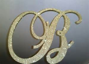 gold monogram cake topper 6 inch gold wedding cake topper monogram letters and initials golden