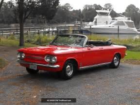 Chevrolet Monza Spyder 1963 Chevrolet Corvair Monza Spyder Convertible