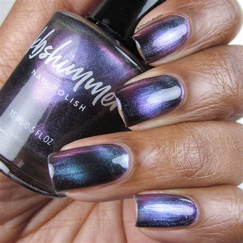 kbshimmer spaced  multichrome magnetic nail polish