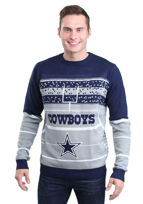 cowboys light up sweater dallas cowboys stadium light up ugly x mas sweater