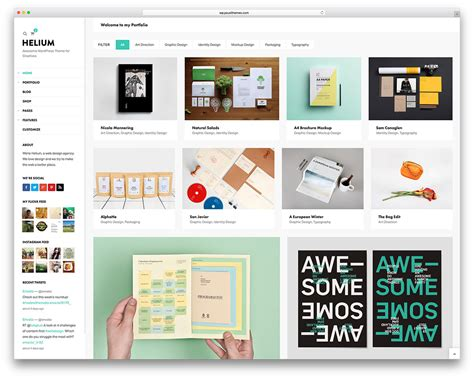 50 Best Personal Portfolio Wordpress Themes 2018 Colorlib Portfolio Web Page Template