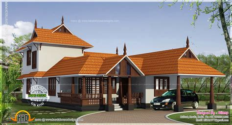 Kerala Style House In 162 Square Meter Home Kerala Plans House Plans In Kerala Style