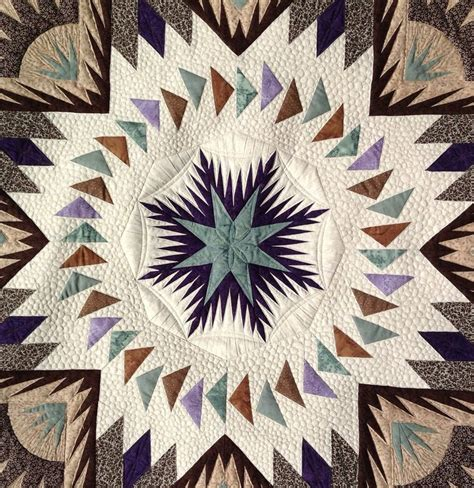 s glacier quilt machine quilted by
