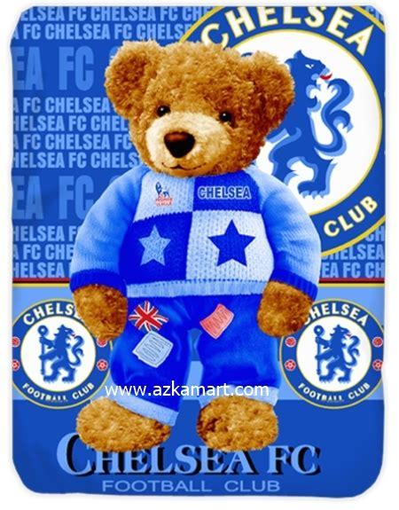 Sprei Lembut Exclusive Chelsea Club selimut grosir sprei dan selimut motif bola