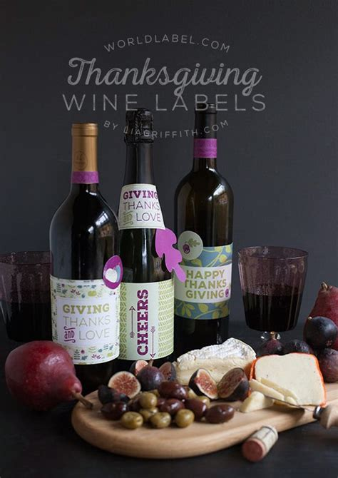 free fall and thanksgiving wine bottle labels to download wine bottle thanksgiving label happy easter