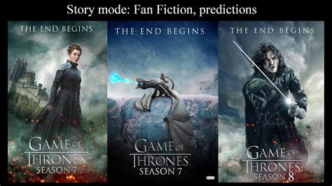 when of thrones 8 of thrones season 7 and season 8 predictions in story