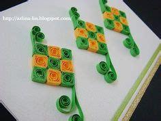 tutorial origami ketupat azlina abdul how to make a quilling ketupat azlina