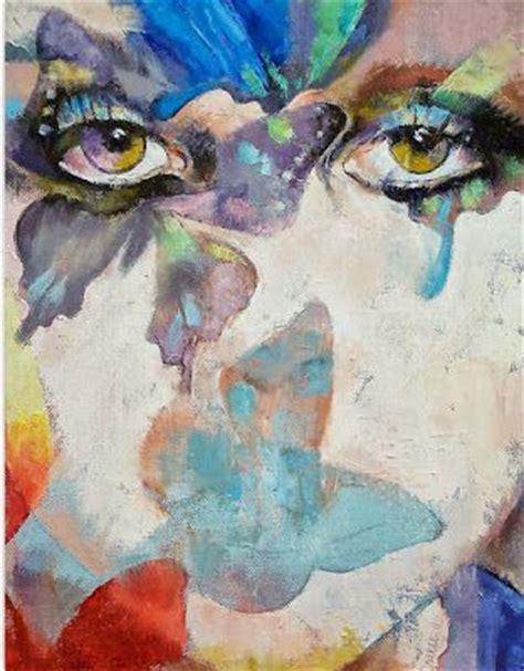 pinturas al oleo de rostros rostros de mujeres pinturas abstractas al oleo cuadros