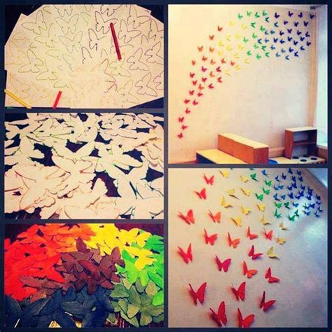 bedroom walls diy butterfly wall decor art ideas for and decorate room with these beautiful butterflies on your