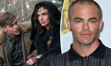 wonder actor interview wonder woman news chris pine speaks out on role it s