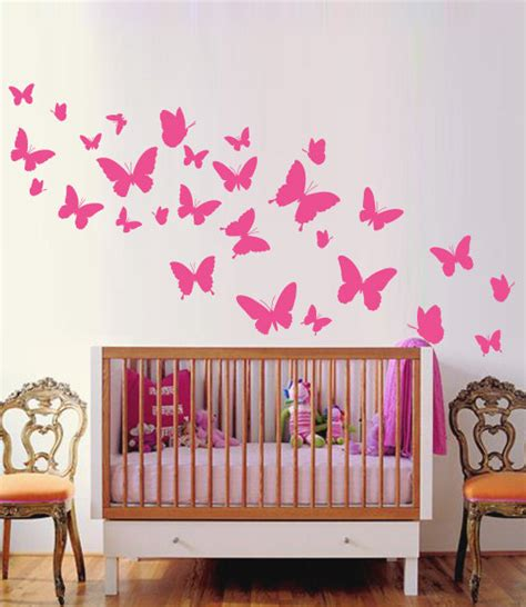 Nursery Wall Decals Australia Butterflies Nursery Wall Sticker Butterflie Decal Baby Room Decor Butterflies Wall Decals