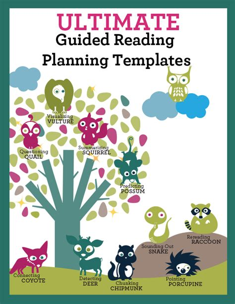 ultimate template ultimate guided reading planning templates