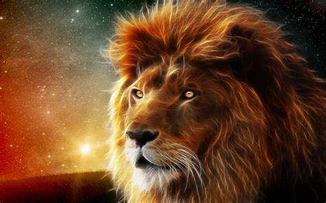 wallpaper 3d lion 3d lion wallpapers 1920x1200 1037645