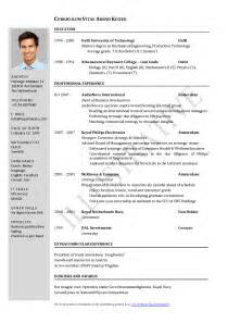 Sle Resume Format Word File by Resume Format For Doctors Simple Resume Template
