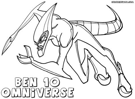 ben 10 omniverse coloring pages coloring pages to