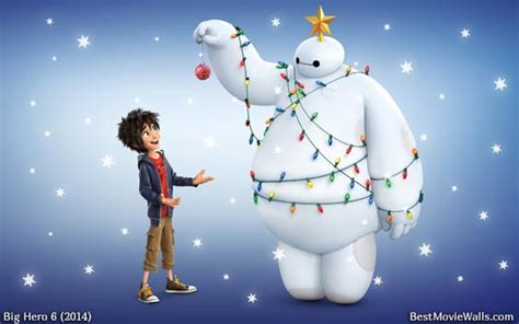 baymax wallpaper christmas baymax and hiro for christmas big hero 6 photo 37903190