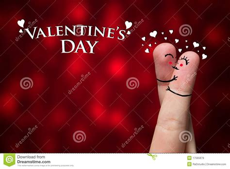 s day ending song finger hug on s day theme stock image image